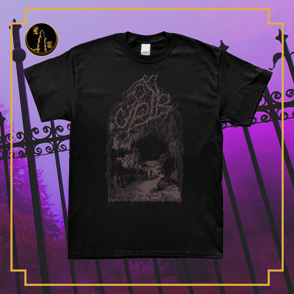Image of Upir - Howling of the Ageless winds short sleeve