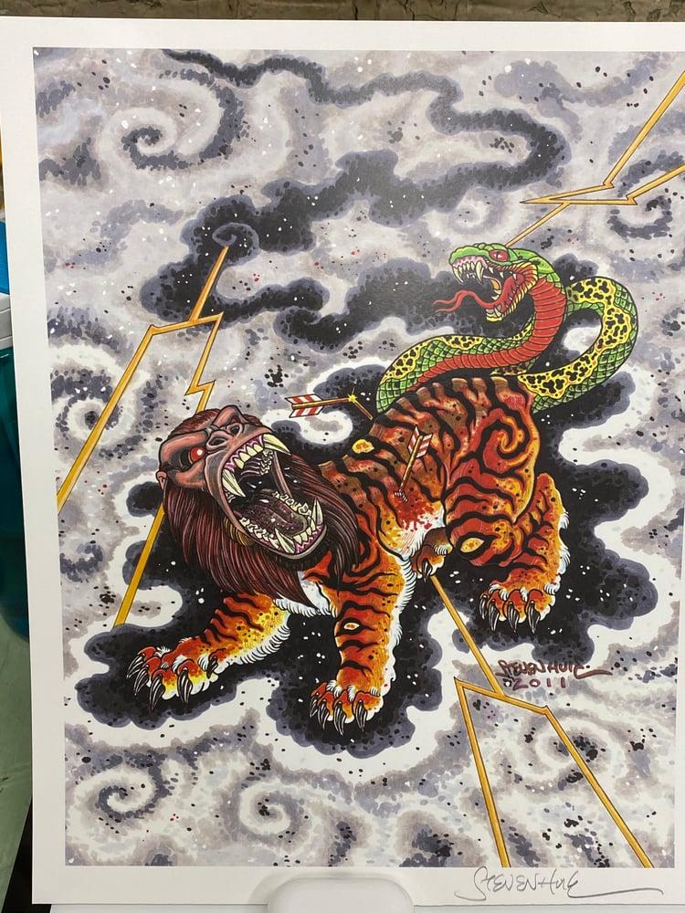 Image of Steven Huie - NUE print