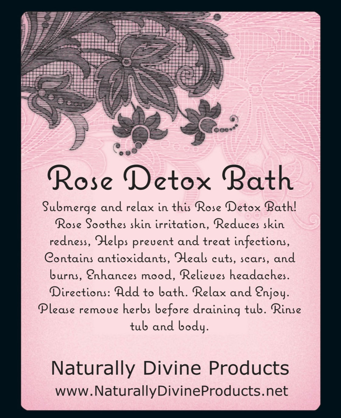 Image of Therapeutic Detox Bath