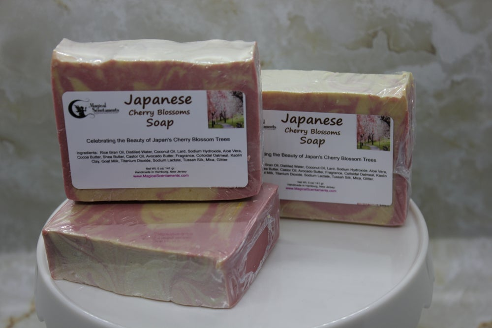 Image of Japanese Cherry Blossoms Soap - International Line
