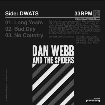 Image of Dan Webb & The Spiders - s/t 7""