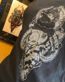 """Image 3 of """"Live Deliciously"""" Hand-printed Tank Top LIMITED EDITION"""