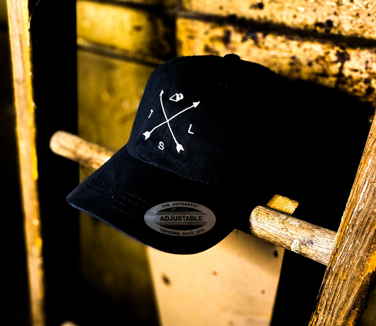 Embroidered Arrow Dad Hat