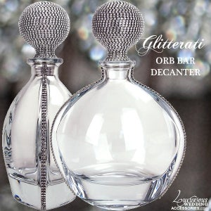 Image of Glitterati ORB Kitchen Crystal Decanter