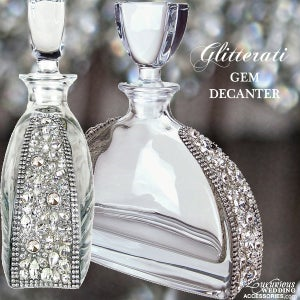 Image of Glitterati Crystal Gem Decanter