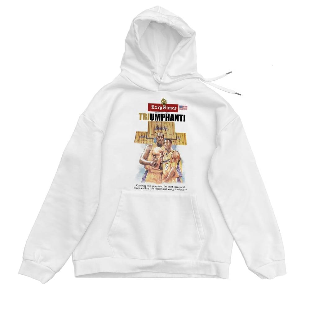 """Image of 3peat """"LA"""" Times hoodie"""