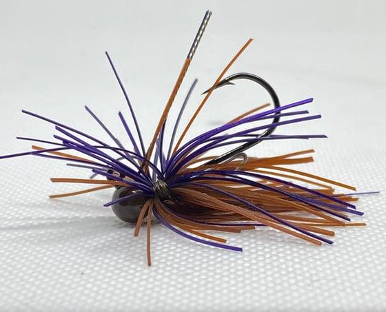 Image of Brown/Purple - Baby Firework Micro Jig