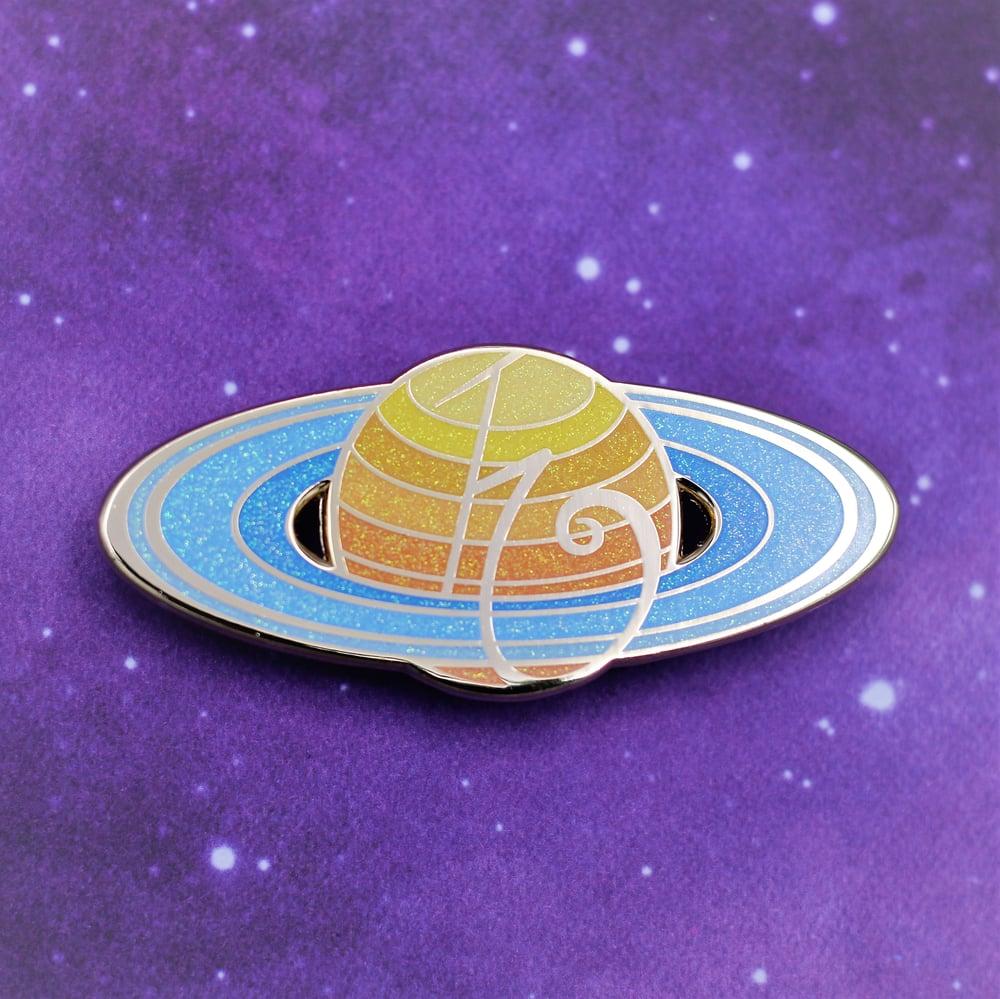 Image of Saturn : Lead Pin