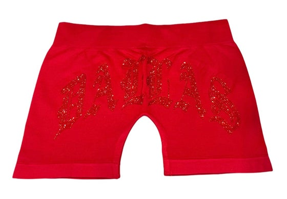Image of DALENTINES BIKE SHORT (RED/RED)