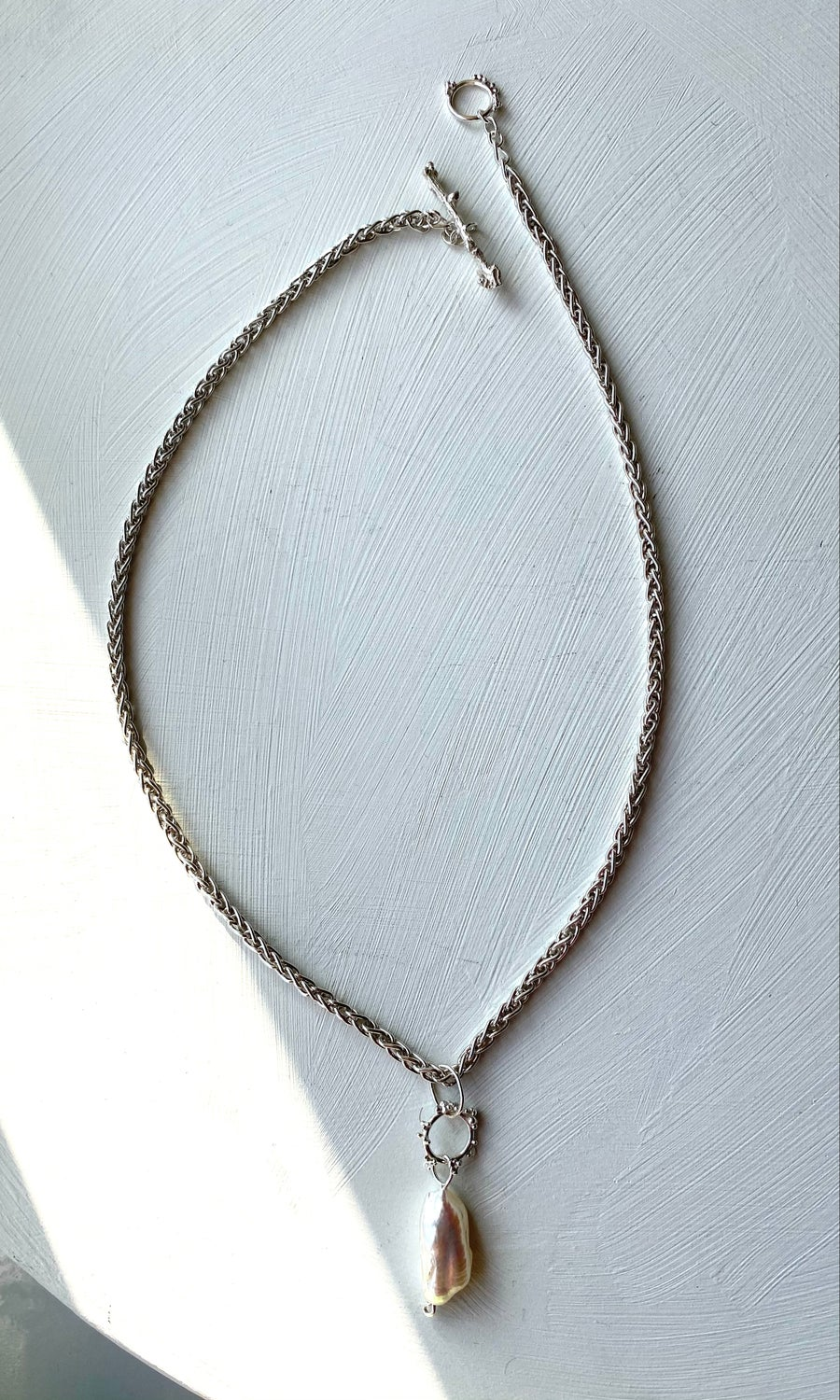 Image of Plethora necklace- Baroque Pearl #2