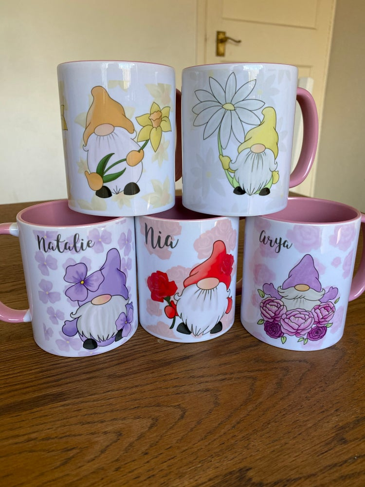 Image of Flower Gnome Mugs
