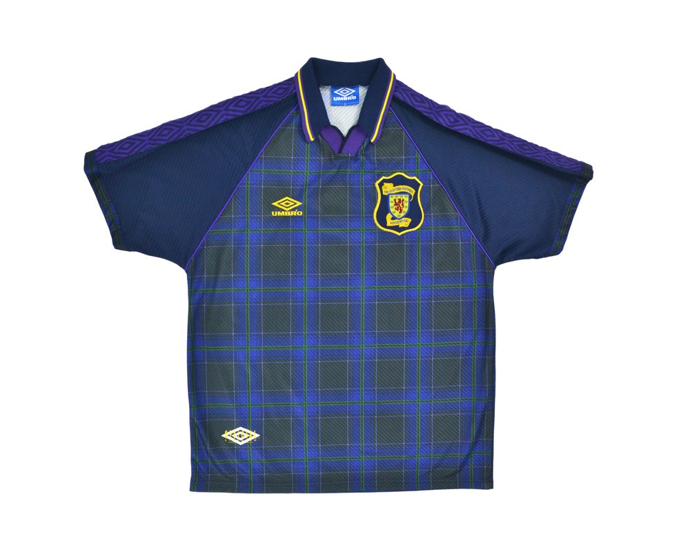 Image of 1994-96 Umbro Scotland Home Shirt XL