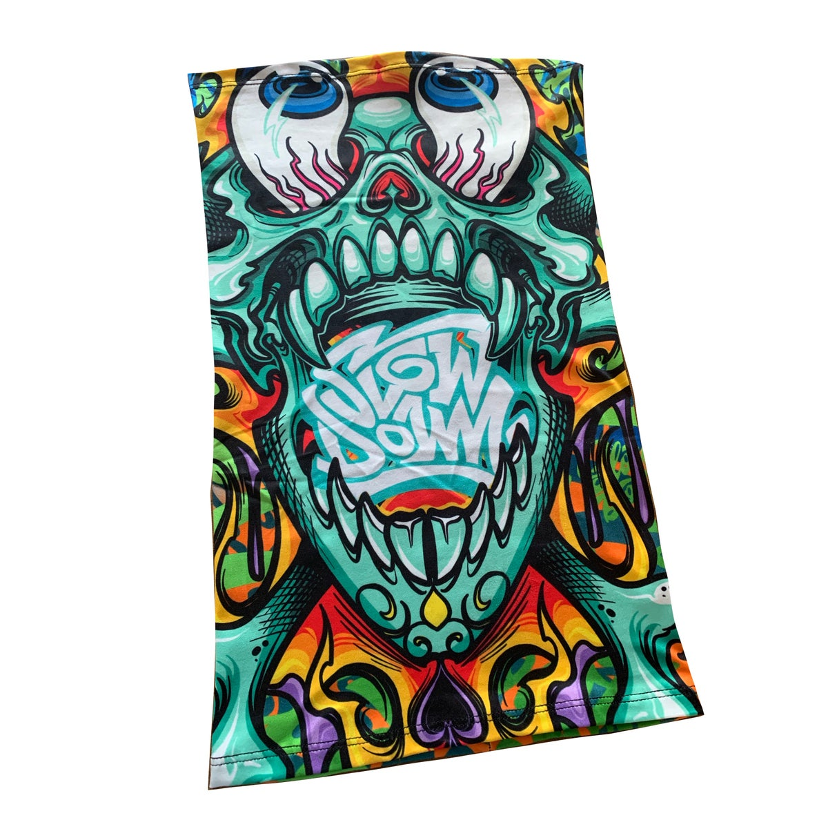 Image of Crazy skull neck gaiter