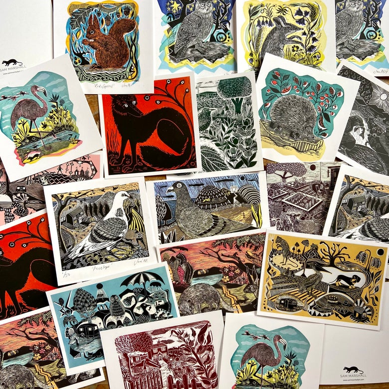 Image of Individual Postcards