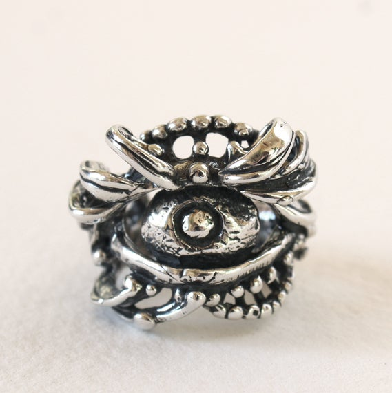 Image of All Seeing Eye Ring by Crystal Hartman