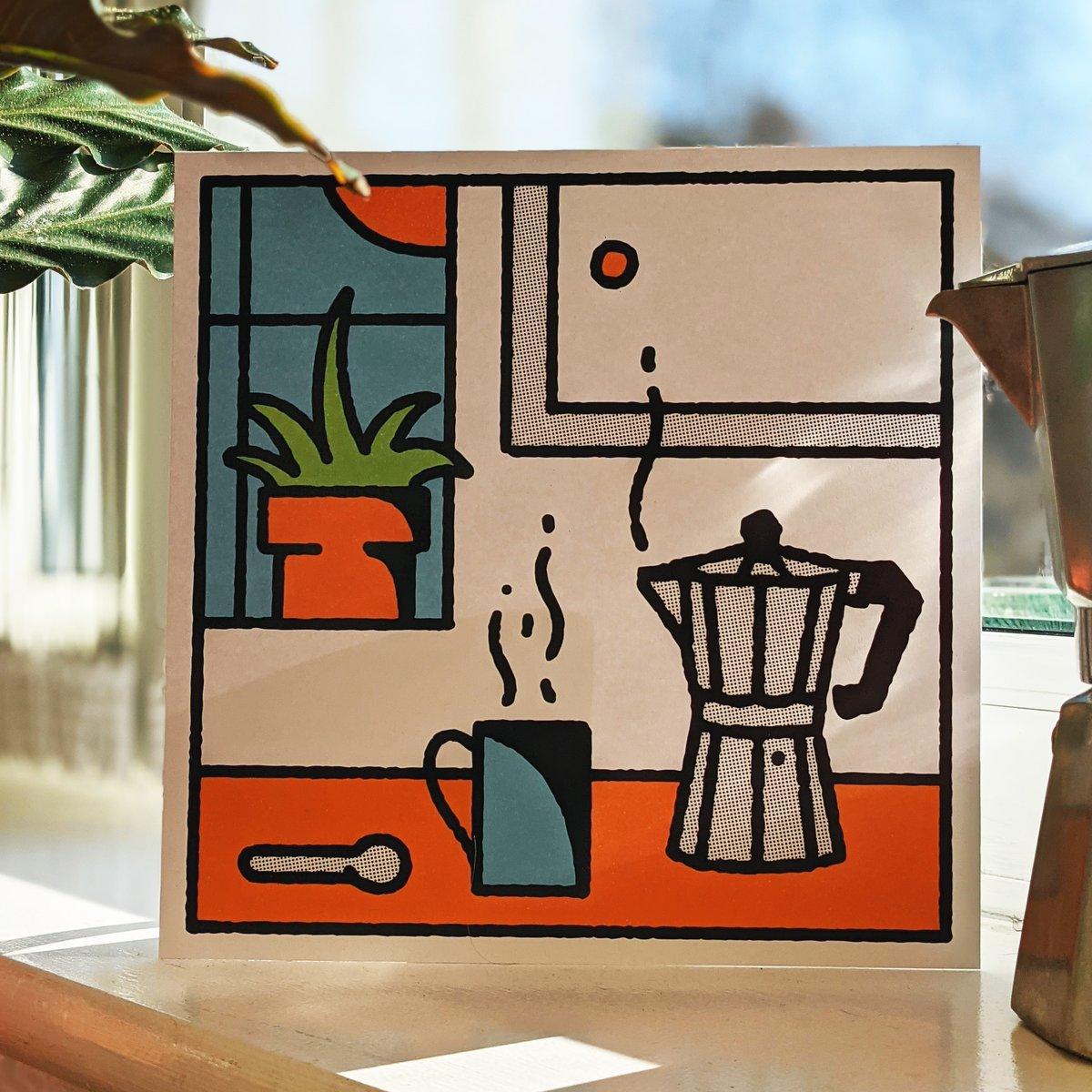 Image of Moka Pot Print