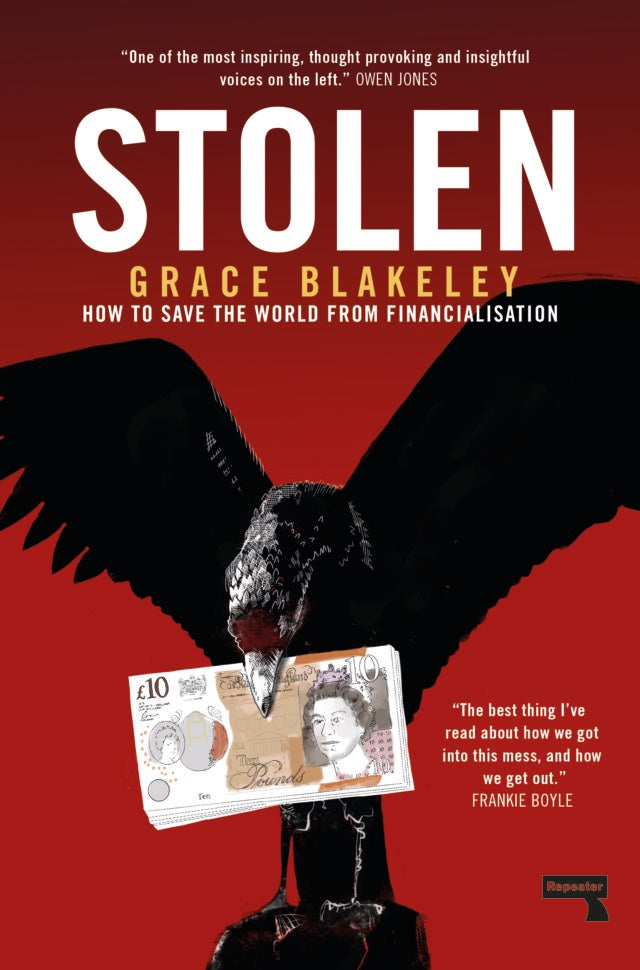 Image of Stolen: How to Save the World from Financialisation