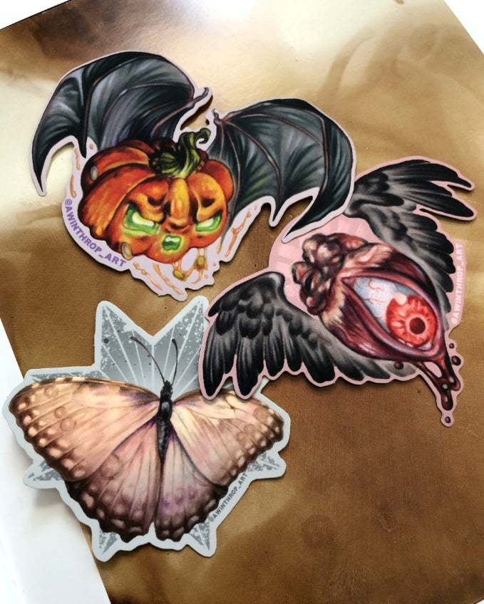 Image of NEW Things With Wings Stickers