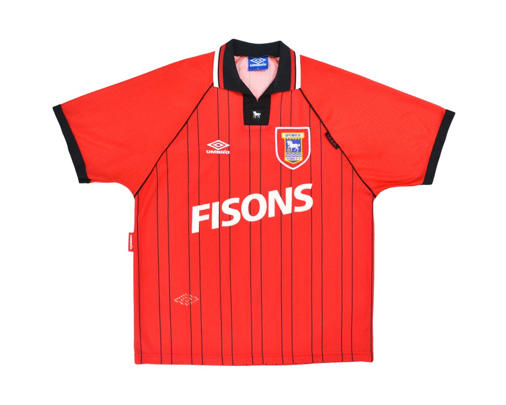 Image of 1993-95 Umbro Ipswich Town Away Shirt XL