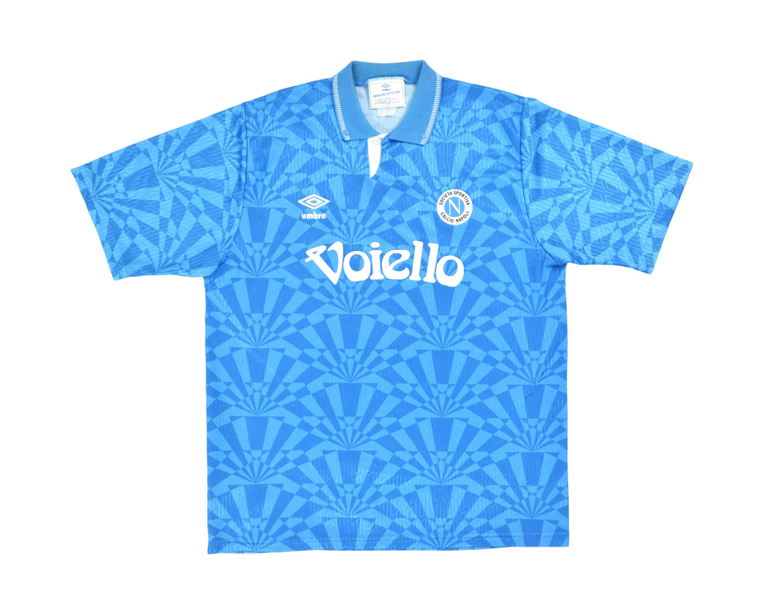 Image of 1991-93 Umbro Napoli Home Shirt XL