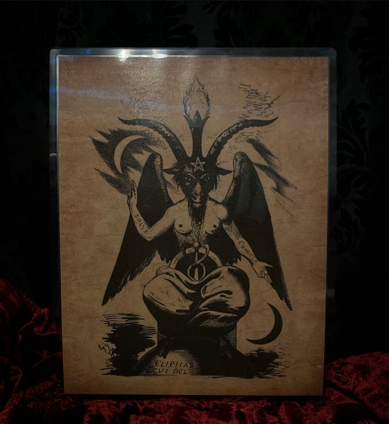 Image of Baphomet Poster