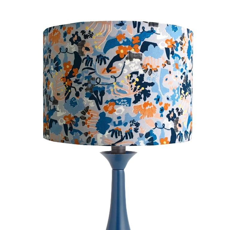 Vivienne Blue 30cm Lampshade