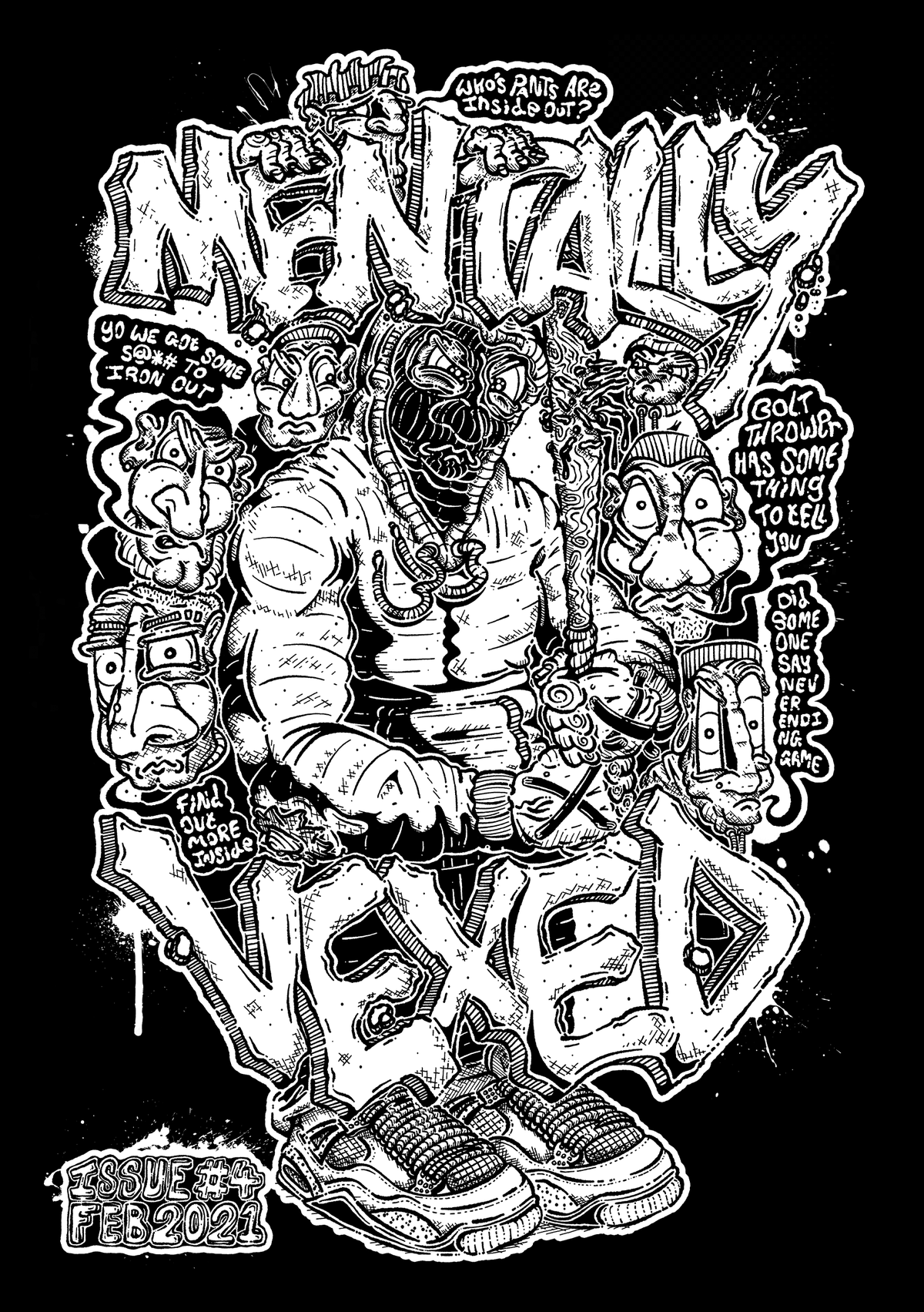 MENTALLY VEXED ISSUE #4