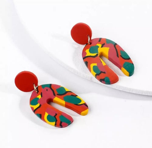 "Image of NEW ""Ebony"" earrings (2 colors to choose from)"