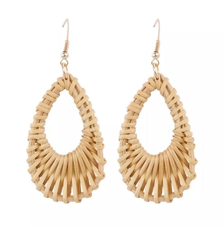 """Image of NEW """"Wicker"""" earrings"""