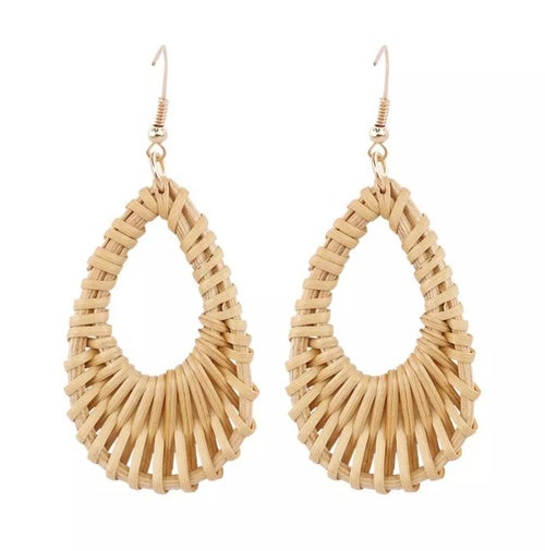 "Image of NEW ""Wicker"" earrings"