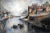 Image of Staithes, Yorkshire, England