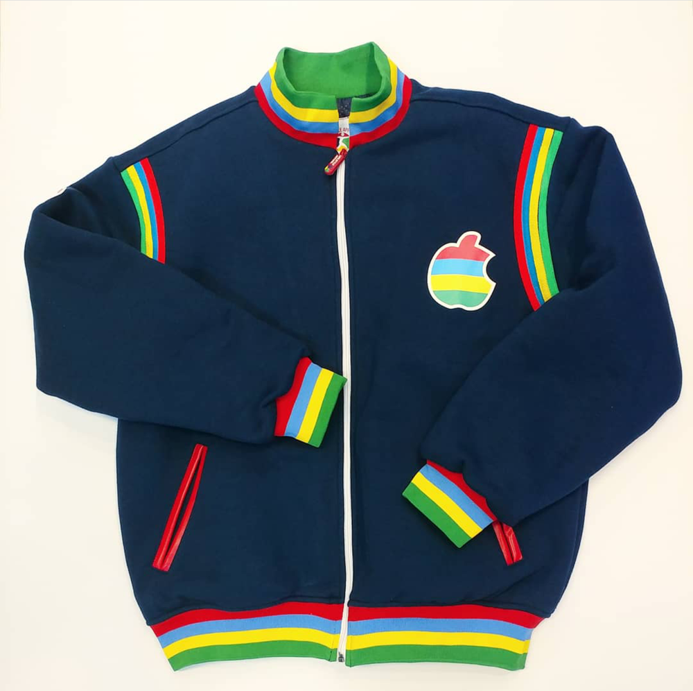 Image of NEW MEN NAVY BITTEN FRUIT JACKET