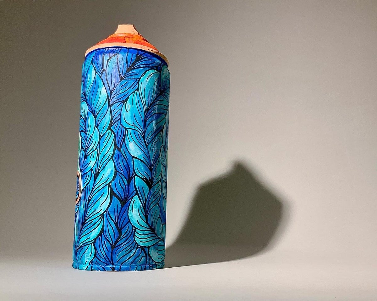 Image of BLUE CAN