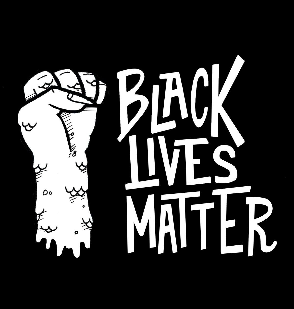 BLACK LIVES MATTER Charity Fundraiser Men's & Women's Limited Edition T-Shirts