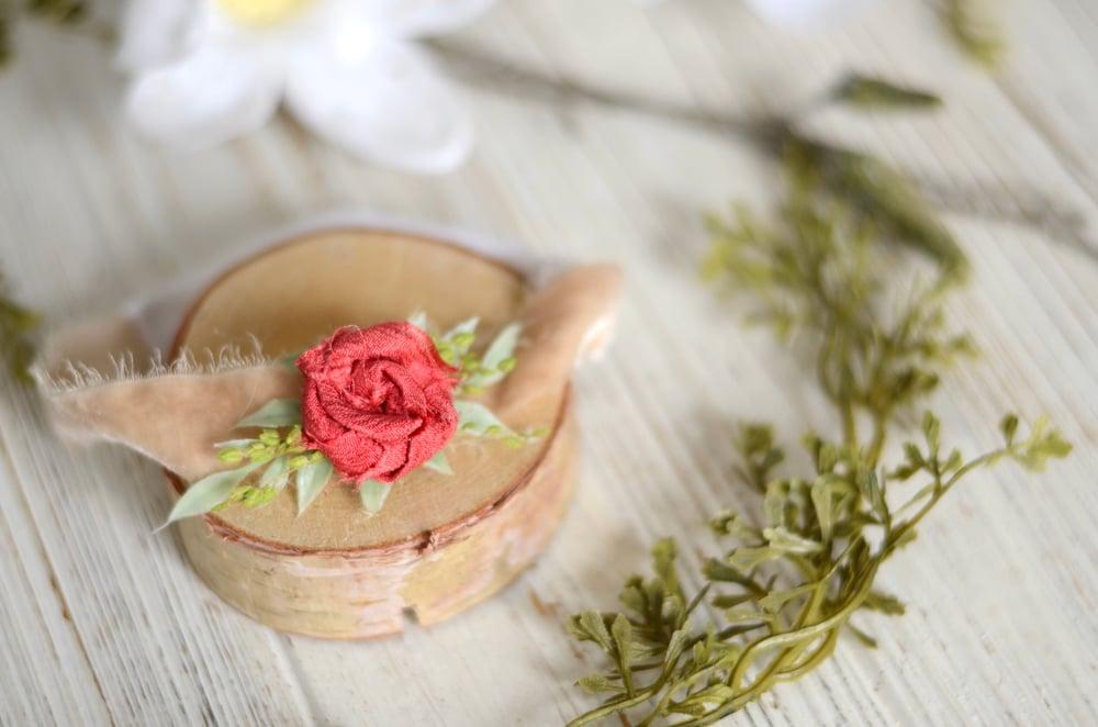 Image of Elmira headband (pink red)