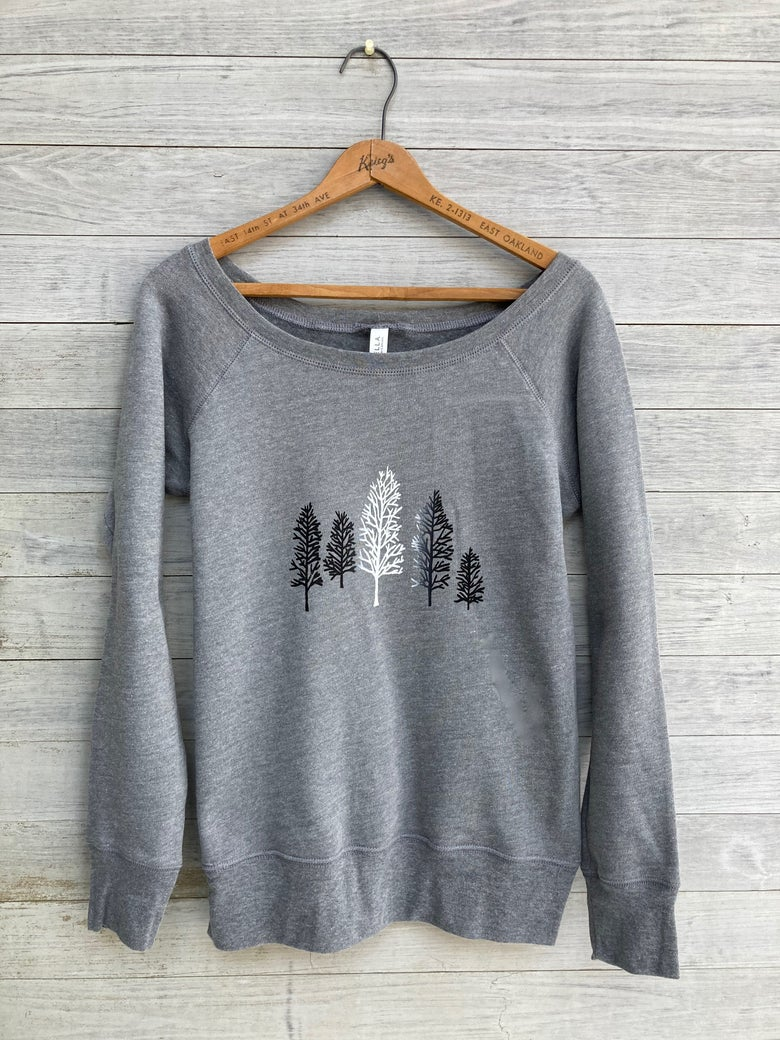 Image of Winter Trees Sweatshirt