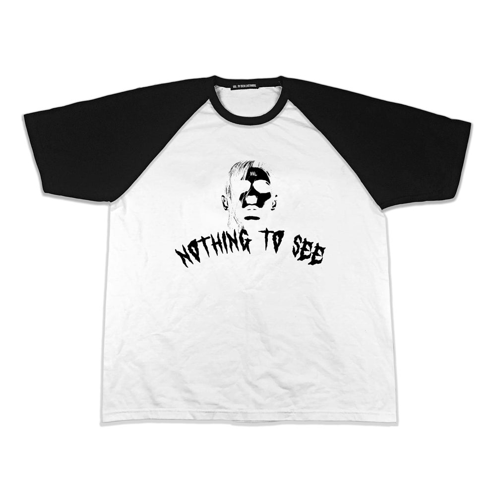 Image of Nothing To See Baseball T-Shirt