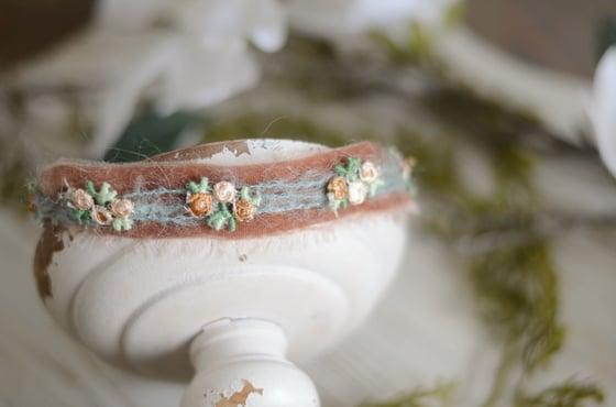 Image of Vjollca headband ( rust)