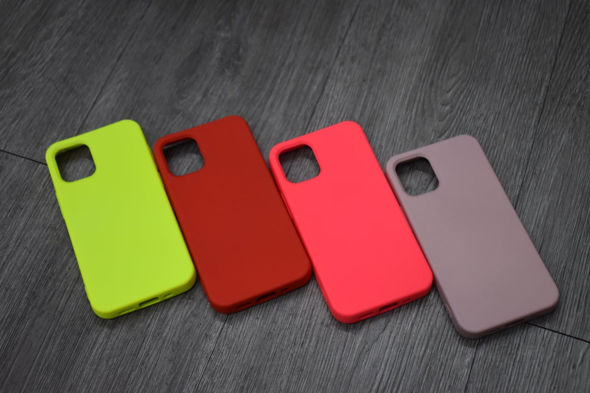 Image of Silicone iPhone Cases iPhone 12 Mini (5.4)