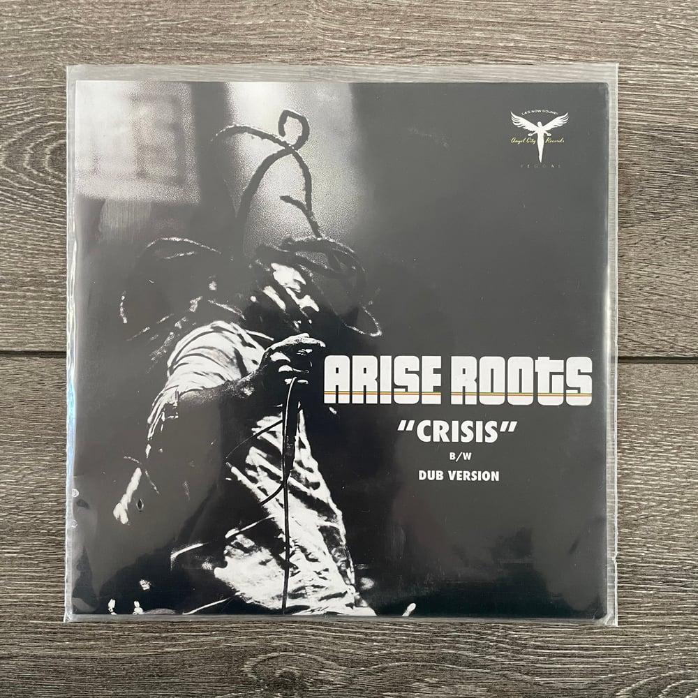 "Image of Arise Roots - Crisis Vinyl 7"""