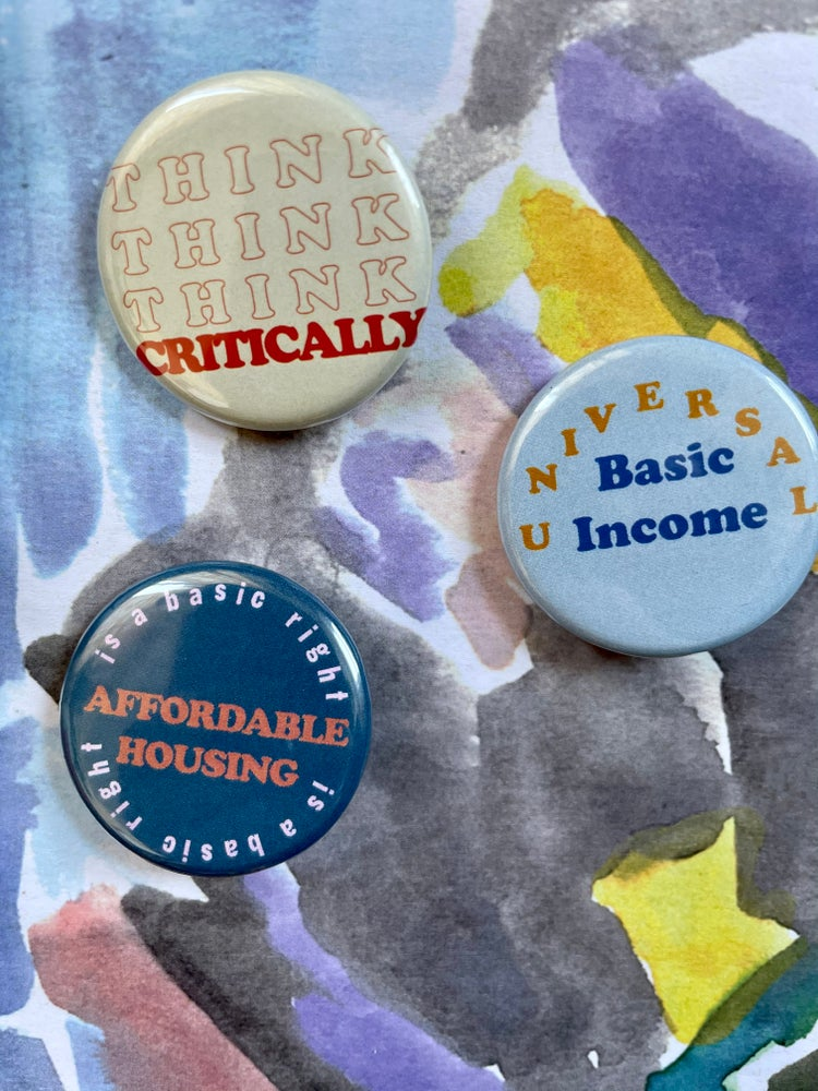 Image of Activist Buttons