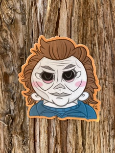 "Image of Myers 4"" Sticker"