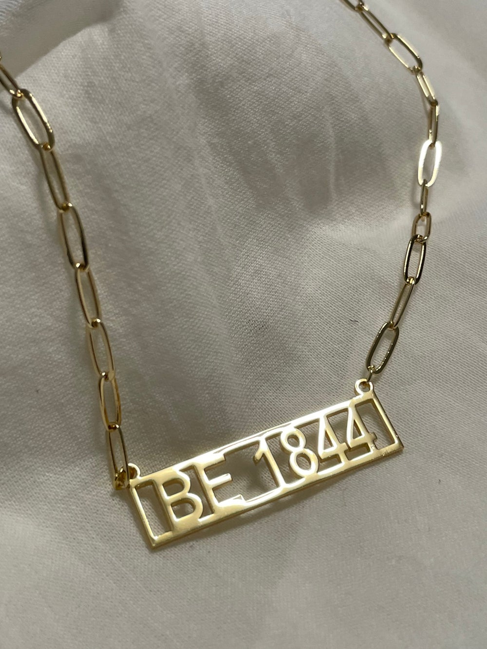 BE 1844 Bahá'í Necklace - Stainless Steel