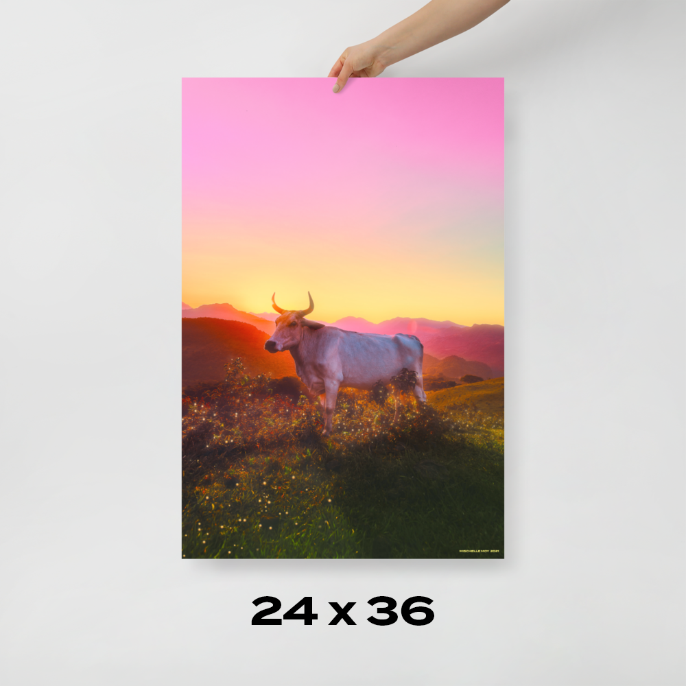 """Print: """"Year of the Ox"""""""