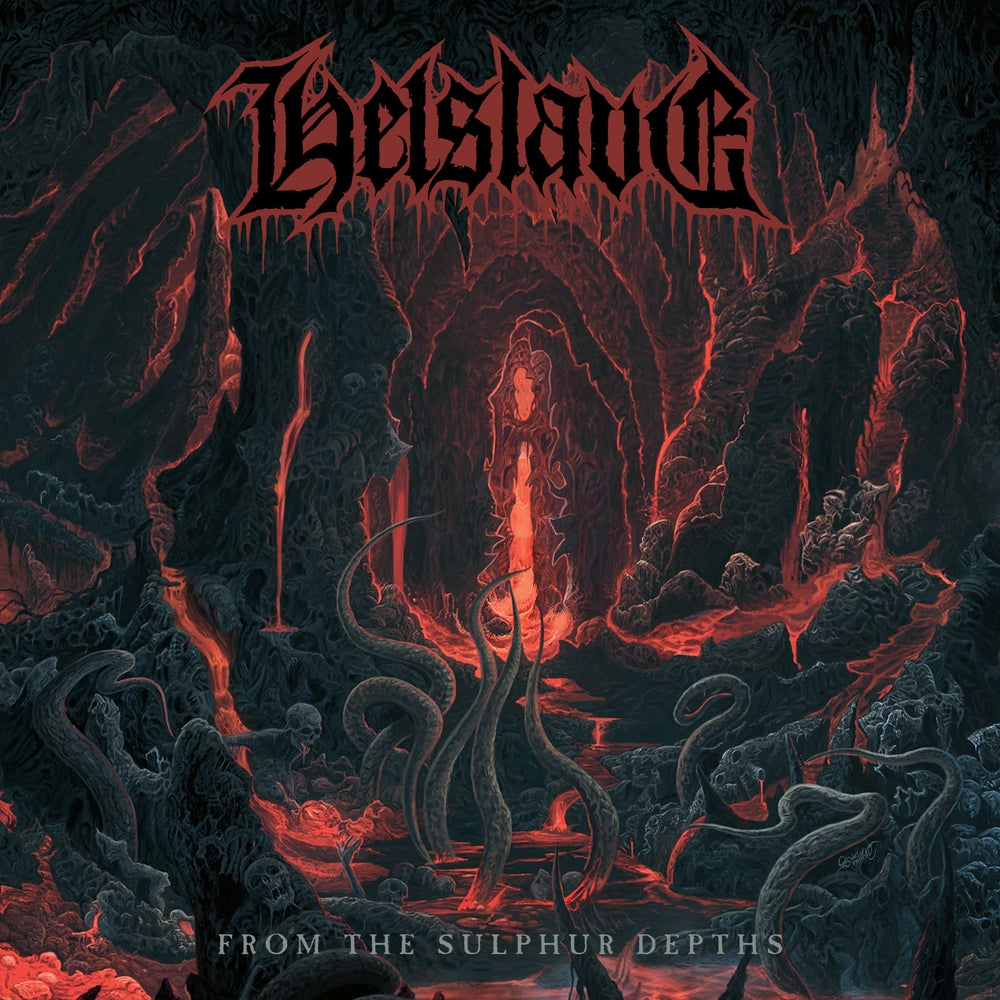 "HELSLAVE ""From The Sulphur Depths"" CD"
