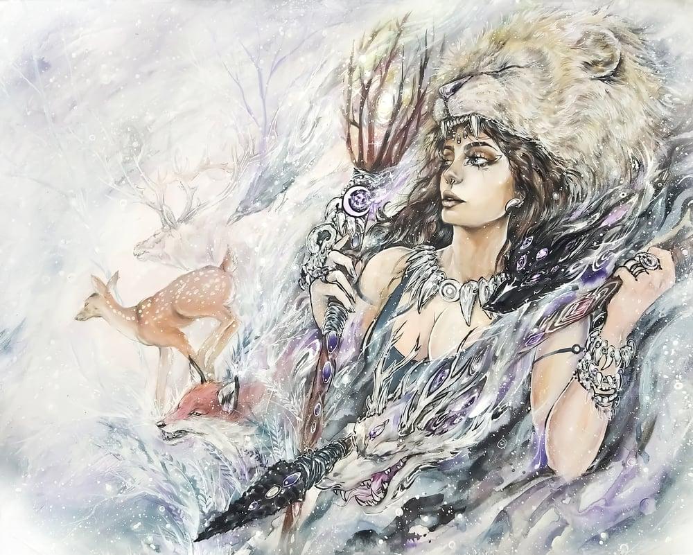 "Image of ""Strength"" Original Painting"