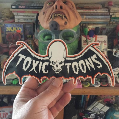 Image of 9 INCH TOXICTOONS STICKER