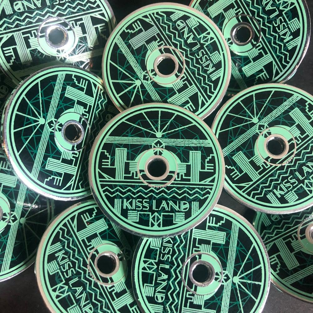 Image of Kiss CD (Hard Enamel Pin)