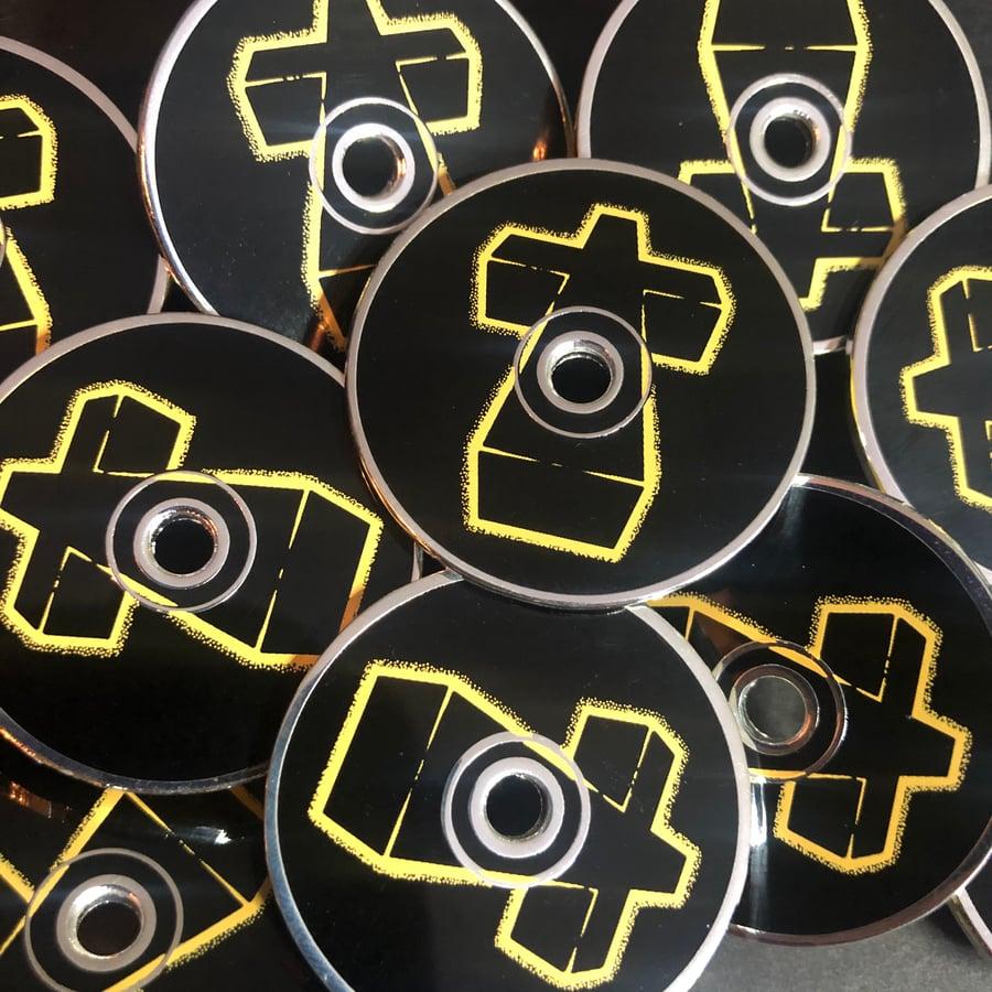 Image of † CD (Hard Enamel Pin)