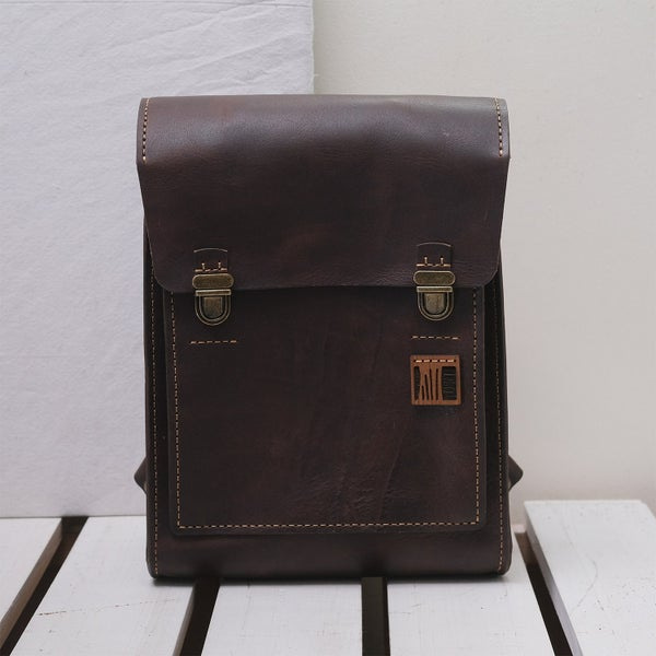 Image of Little Scout Backpack chocolate